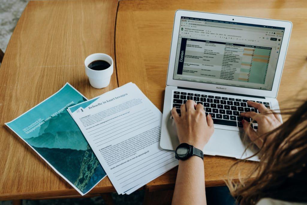 SEO copywriting worksheet